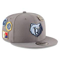 644157309a1 Men s Memphis Grizzlies New Era Gray 2018 NBA Draft 9FIFTY Adjustable Hat