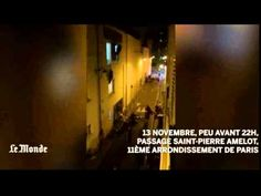 Witness shot live video on accounts of Paris captured on video