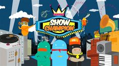 2014 Show Champion Opening Title Opening Title Sequence Designed by VERY2MUCH Clinet: MBC MUSIC  Creative Director: Park jung Seok, Yi Jung Min Character Design & Artwork: Lim Sun Hwa 3D Character Modeling,Rigging,Animation: Kim Jong Min, Jo Jun Soo Motion Graphic Design: Kim Hye mi, Choi Hyun Jung
