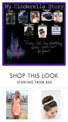 """""""My Cinderella Story"""" by blackest-raven ❤ liked on Polyvore"""