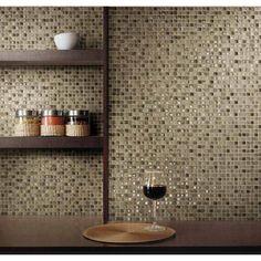 """Crystal Stone II 5/8"""" x 5/8"""" - Espresso Mosaic"""