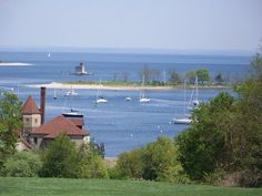 """Believe it or not, this amazing view is from the """"Dog Park"""" at Coindre Hall in Huntington, Long Island"""