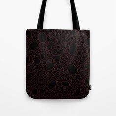 Organic - Red Tote Bag by laec | Society6