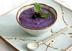 Blueberry Chai Pudding