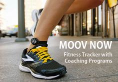 Think your fitness regime isn't working out that well? Moov is the personal fitness coach you are in need of. It's a beautiful and compact piece of Fitness Gifts, You Fitness, Fitness Tracker, Running Form, Running Watch, Vash, Leg Work, Track Workout, Personal Fitness
