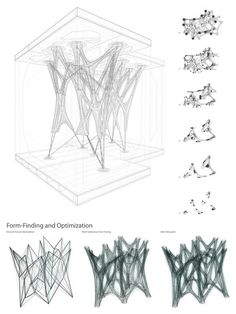 Cast Thicket, Winner of APPLIED Research Through Fabrication Competition, Now Completed In October of last year, we reported that the parametric design concept Cast Thicket had been selected as the winning entry of - architecture Parametric Architecture, Parametric Design, Architecture Portfolio, Architecture Drawings, Architecture Design, Concept Architecture, Architecture Diagrams, Futuristic Architecture, Parametrisches Design