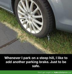 Added parking brake
