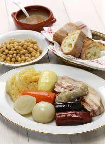 Receta de Cocido Madrileño para Crock Pot