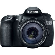 Canon - Canon EOS 60D 18 MP CMOS Digital SLR Camera with 3.0-Inch LCD and 18-135mm f/3.5-5.6 IS UD Standard Zoom Lens