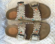 Bohèmes Beauties....packing These handbeaded #Maliparmi sandals for my Summer Escapades....