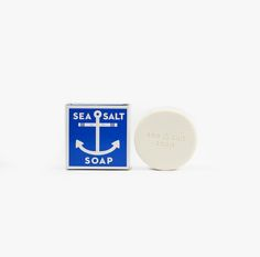 Individual Medley | Sea Salt Soap |  Mineral rich salts naturally obtained from sea water are used in the bath because of their tonic action and softening effect on the skin.   4.5 oz