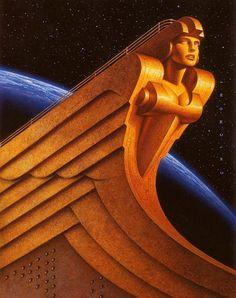 Art Deco Figurehead