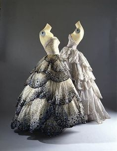 Vintage Dior Dress - designed by Christian Dior in 1949. [drool.]