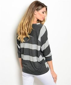 Charcoal Gray Top