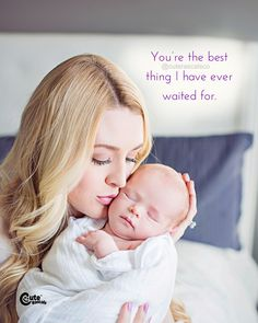 You're the best thing I have ever waited for. - Newborn Quotes #newborn #newbaby #baby #pregnancy #maternity #infant #child #kids #children #mommy #parenting #parents #life #quotes #dailyquotes #bestquotes #sayings #family #encouragementquotes #inspiring New Parent Quotes, New Baby Quotes, Newborn Quotes, Baby Girl Quotes, Precious Children, Reading Quotes, New Parents, Encouragement Quotes, Beautiful Babies