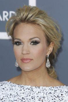 Carrie Underwood Hair Updos | Updo hairstyles