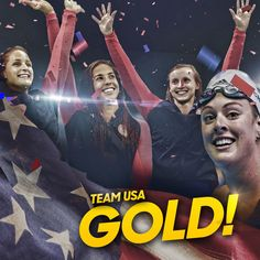 NBC Olympics @NBCOlympics  Aug 10 .@TeamUSA @USASwimming takes home #GOLD in the 4x200m Free Relay! #Rio2016 #swimming