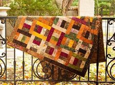 Scrappy Rails Quilt Kit -