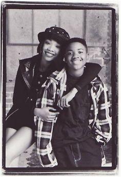 90s fashion ray j. & brandy