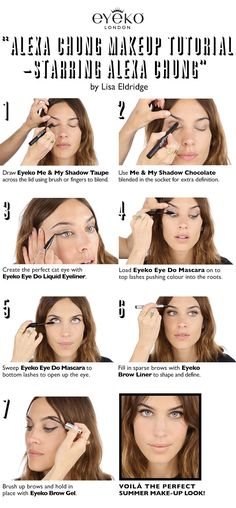 "VIDEO LINK ""Alexa Chung Makeup Tutorial - Starring Alexa Chung!"""