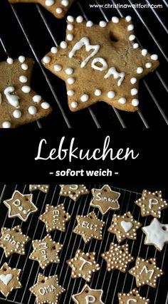 Sofort weich und sofort lecker - das beste Lebkuchenrezept/ ginger bread recipe - Christmas cookies