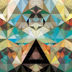 Principia... A master of color and geometric composition, Andy Gilmore's work is often characterized as kaleidoscopic and hypnotic, though it could just as well be described as visually acoustic, his often complex arrangements referencing the scales and melodies in music.