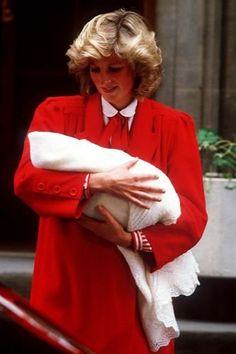 Princess Diana, 1984  Harry