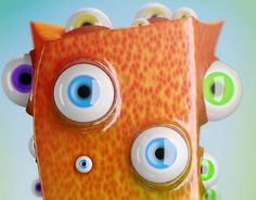 "Check out new work on my @Behance portfolio: ""Billy the Multi Eyed Cuboid"" http://be.net/gallery/34844107/Billy-the-Multi-Eyed-Cuboid"