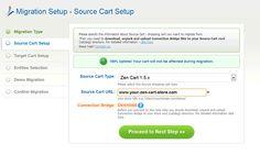 2. Source Cart Setup