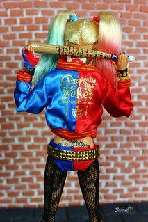 Hatley Quinn, Beautiful Barbie Dolls, Anita, Ooak Dolls, Fendi, Superhero, Accessories, Fashion, Tumblr Clothes