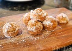 Mini Cinnamon Donut Balls – Baked