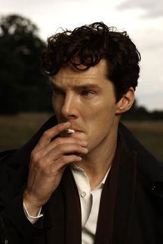 Benedict Cumberbatch Vogue Italia