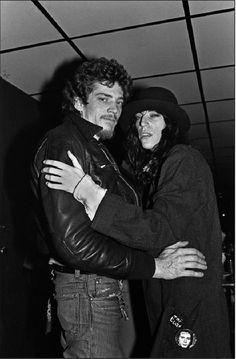 iaintnobodyswhore:  Robert Mapplethorpe and Patti Smith at Max's Kansas City / NYCMay 18, 1978Photographer: Allan Tannenbaum