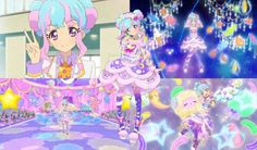 Aikatsu! Stars: Kirara Hanazono Collage (Mercury) by ArtisticAries91