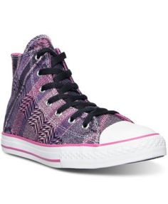 cd1981ba40df CONVERSE Converse Women S Chuck Taylor Hi Dobby Casual Sneakers From Finish  Line.  converse