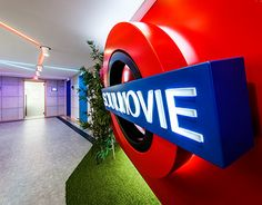 """Check out new work on my @Behance portfolio: """"Soul Movie Entertainment Offices"""" http://on.be.net/1vITZHo"""