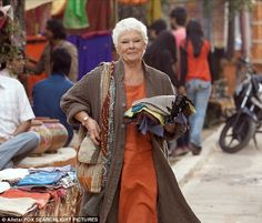 Star: Judi is one of the main stars of the film, which is a sequel to the Best Exotic Marigold Hotel