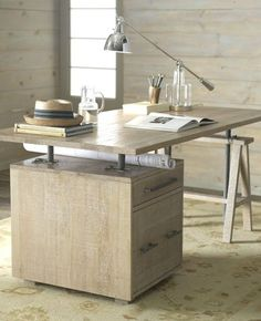 This is Elita, a stylish desk designed for writing. To me this piece of furniture is very appealing. I spend a lot of time writing and I could use such a p