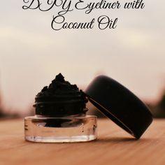 DIY Eyeliner with Coconut Oil | Delicious And DIY