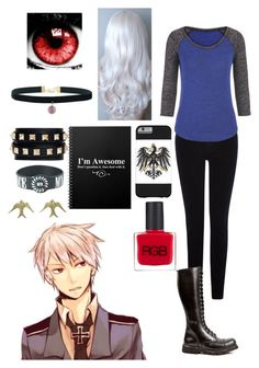 Hetalia: Daughter of Prussia by ender1027 on Polyvore featuring maurices, Warehouse, Valentino and RGB