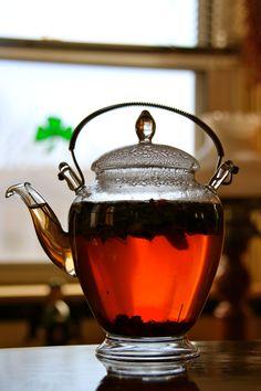 Tea on a grey afternoon.  www.deniebernier.com