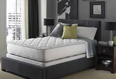 Serta #mattress - Presidential Suite II Hotel Sapphire Suite Double Sided Plush King Size Mattress