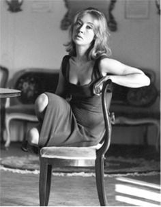 "Ugo Mulas:   Critic and Journalist Oriana Fallaci      ""Why do the people humiliate themselves by voting? I didn't vote because I have dignity. If I had closed my nose and voted for one of them, I would spit on my own face."" Oriana Fallaci"