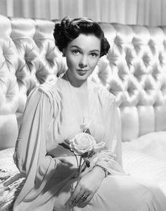 actress Kathryn Grayson 1940s/1950s