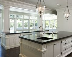 If there is a great room to the left of this kitchen then I would happily move right in.