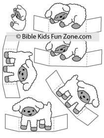 The original sheep stand-ups have been updated and added to the Nativity download for Nativity Lesson 3. Kids Sunday School Lessons, Sunday School Crafts, Nativity Coloring Pages, Activities For Kids, Crafts For Kids, Cain And Abel, Nativity Crafts, Birth Of Jesus, Bible Crafts