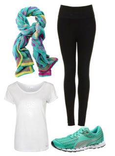 what a cute outfit to head to the gym in!