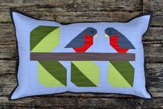 Love Birds Quilted Pillow Workshop