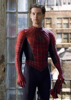 Tobey Maguire in Spiderman - miss him!