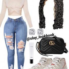Sorry y'all I haven't posted in 2 days, dw tomorrow I'll post 4 ❤️ Swag Outfits For Girls, Boujee Outfits, Teenage Girl Outfits, Cute Casual Outfits, Teen Fashion Outfits, Girly Outfits, Dope Outfits, Stylish Outfits, Summer Swag Outfits